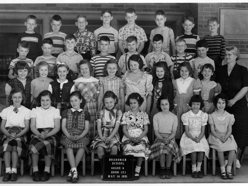 Miss Johnson 4th Grade Class (1951)