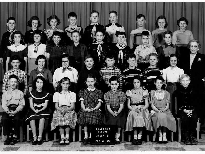Mrs. Morgan 5th Grade Class (1952)