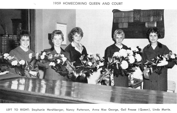 1959 Queen and Court