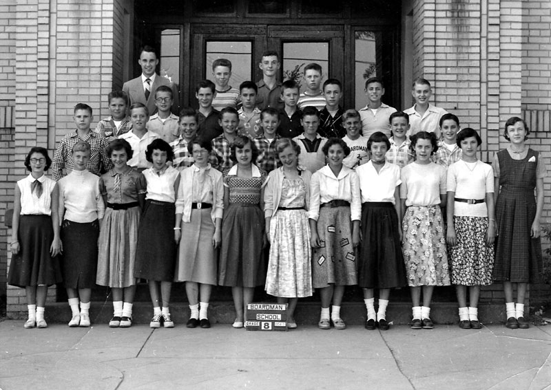 Dick Selby's 8th Grade Homeroom